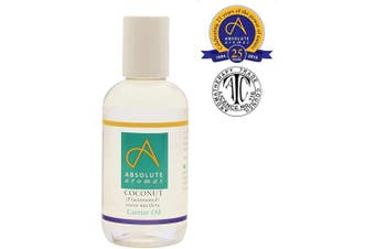 (150ml) - Absolute Aromas Fractionated Coconut Oil 150ml - 100% Pure, Unscented and Natural Carrier Oil - For Massage, Aromatherapy and Blending Essentials Oils - Use on Hair and Skin (150ml)