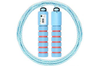 ANNADA Adjustable Jump Rope with Counter,Jump Speed Rope with Anti Slip Handle, Ideal for Boys and Girls Fitness & Exercise