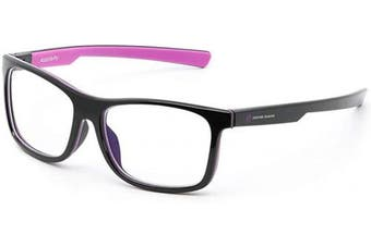 (Toxin Purple) - Shroud Gaming Glasses by AVATUDE Gaming (PLUS Hard Case & Cleaning Cloth) (Toxin Purple)