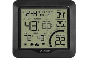 La Crosse Technology 327-1414BW Wind Speed Weather Station