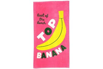 (Top Banana) - ban.do Beach, Please! Giant Oversized Beach Towel, 180cm x 100cm (Top Banana)