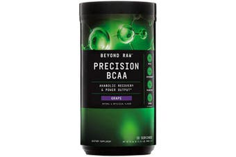 (Grape, 30 servings) - Beyond Raw Precision BCAA - Grape, 30 Servings, Provides Energy and Supports Muscle Repair