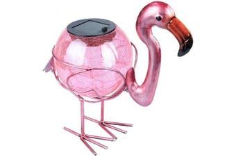 (Flamingo) - Solar Lantern Outdoor Decorative Waterproof LED Solar Lights Flamingo Tabletop Lamp for Outdoor Patio Garden
