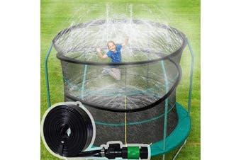 (Length-12m, Sprinkler-12) - ARTBECK Trampoline Sprinkler, Outdoor Trampoline Water Play Sprinklers for Kids, Fun Water Park Summer Toys Trampoline Accessories (Length-12m, Sprinkler-12)