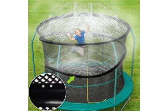 (Length-12m, Sprinkler-11) - ARTBECK Trampoline Sprinkler, Outdoor Trampoline Water Play Sprinklers for Kids, Fun Water Park Summer Toys Trampoline Accessories (Length-12m, Sprinkler-11)