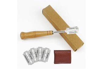 (Style 2) - Amytalk Bread Lame with Replaceable 5 Blades, Bread Lame Dough Scoring tool with Wooden Handle, Lame Bread Slashing Tool, Bakers Lame for Cutting Bread