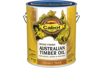 (Gallon, Low Voc Honey Teak) - CABOT SAMUEL INC 19458-07 AusTimGAL TeakWD Finish