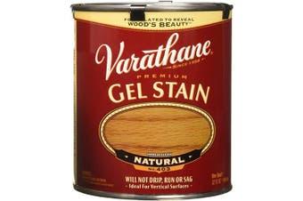 (Natural) - Varathane 224453H Premium Gel Stain, Quart, Natural