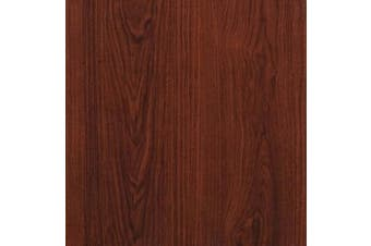 "(197 In X 17.7 In) - 197""x17.7""Red Brown Wood Peel and Stick Wallpaper Wood Grain Shlef Liner Self Adhesive Film Removable Textured Wood Panel Decorative Wall Covering Faux Vinyl Shelf Drawer Liner Cabinet Countertop"