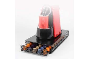 (50 Pods) - Coffee Capsule Drawer Display Storage Pod Holder for Nespresso Originaline (50 Pods)