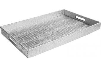 American Atelier 1270073 Alligator Tray, Silver