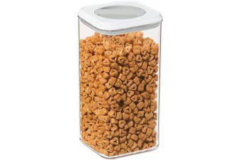 (2810ml) - Oggi Twist and Store Square Airtight Acrylic Canister, 2810ml