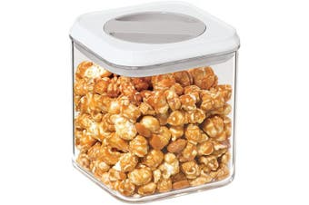 (1600ml) - Oggi Twist and Store Square Airtight Acrylic Canister, 1600ml