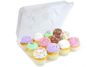 1 Dozen Cupcake Container (12 cavities), 25 ct.