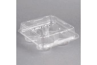 1/3 Dozen Cupcake Container (4 cavities), 12 ct.