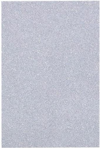 Glitter Foam Sheets EVA Sparkle Colour Flexible Easy Cut Card Making Art Crafts