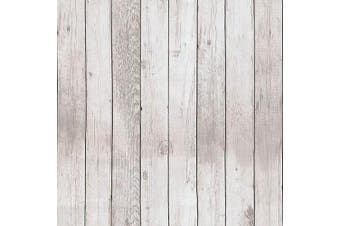 (90071) - Akea Wood Peel and Stick Wallpaper 45cm x 600cm Removable Vintage Wood Plank Contact Paper Self-Adhesive Removable Wall Covering Prepasted Decorative