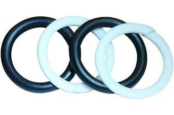 Coxreels 439-1-SEALKIT Viton Replacement Swivel O-Ring Seal Kit,Black/White 1.3cm Size