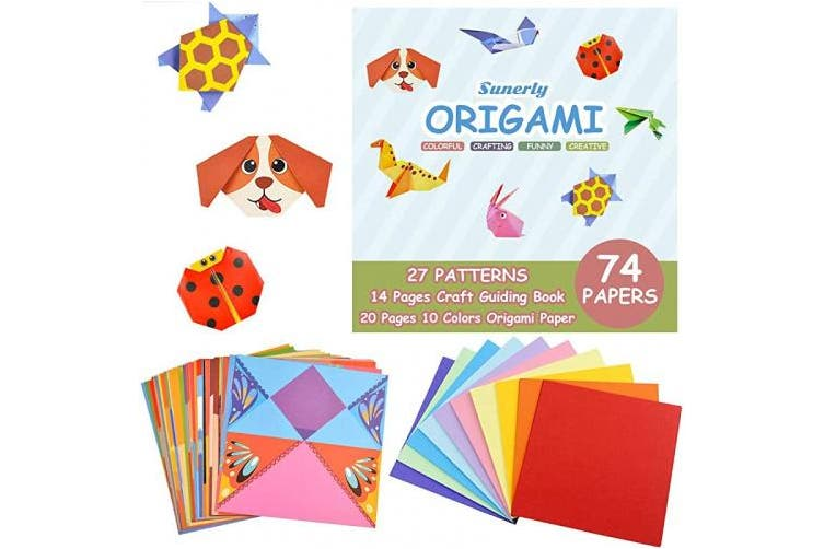 Origami Craft Kit for Kids | Peachy Keen Crafts | 502x753