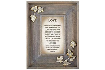 (Love) - LoveLea Down Home Collection Tabletop Frame, Love