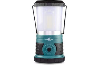 (1500 Lumen, Frosted Top) - Blazin' Sun 1500 Lumen | Led Lanterns Battery Operated | Hurricane, Emergency, Storm, Power Outage Light | 200 Hour Runtime (Teal)