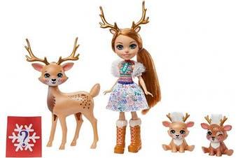 Enchantimals Rainey Reindeer Doll & Family