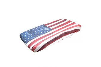 "(Patriot) - Premium Knit Nappy Changing Pad Cover""Patriot"" by Copper Pearl"