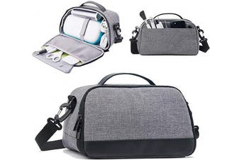 BGD-DG Carrying Case Compatible with Cricut Joy Machine, Cricut Joy Starter Tool Set, Fine Point Pen and Other Supplies, Compact and Portable, Grey (Bag Only)