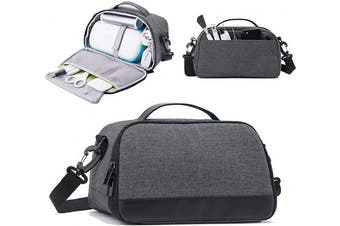 BGD-DG Carrying Case Compatible with Cricut Joy Machine, Cricut Joy Starter Tool Set, Fine Point Pen and Other Supplies, Compact and Portable, Dark Grey (Bag Only)