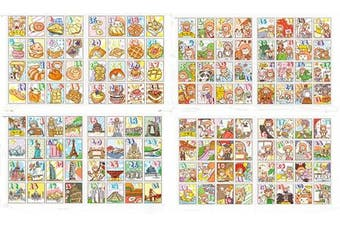 (Thz-xy152) - 24 Sheets Planner Stickers Set Deco Stickers for Planner Journal DIY 8 Designs Each 3 Sheets (thz-xy152)
