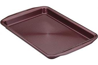 (25cm  x 38cm , Merlot Red) - Circulon 47880 Nonstick Bakeware, Nonstick Cookie Sheet / Baking Sheet - 25cm x 38cm , Merlot Red