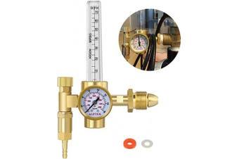 (Hf43) - AGPtEK Argon CO2 Mig Tig Flow metre Regulator CGA580 Welding Weld