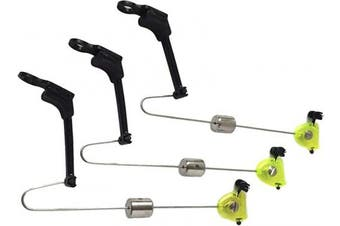 (Fluro Green, 3x) - Indicators Bite Carp Fishing/Angling Bite Indicators/Swing Arms in Variety of Colours