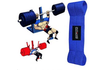(Blue-Professional-Level) - FITAXIS Fitness Bench Blaster, Weightlifting, Crossfit, Powerlifting, Bench Press Sling, Stronglifts, Weight training, Strength training
