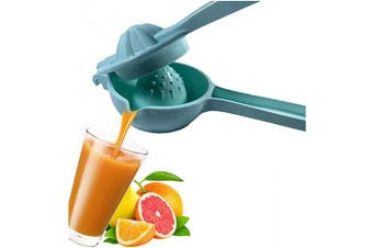 (Blue) - Aeon Design Lemon Squeezer-Citrus Press Juicer With Handle-Strong Lemon Collector-Lime Squeezer-Good Grip Unique Design Lemon Squeezer-Long Lasting-Dishwasher Safe-1 Piece-21cm x 7.9cm And 0.1kg (Blue)
