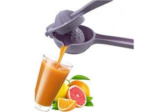 (Purple) - Aeon Design Lemon Squeezer-Citrus Press Juicer With Handle-Strong Lemon Collector-Lime Squeezer-Good Grip Unique Design Lemon Squeezer-Sturdy And Dishwasher Safe-1 Piece-21cm x 7.9cm And 0.1kg (Purple)