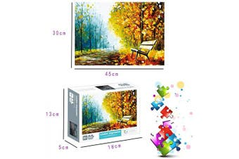 (Late Autumn 11.9 in X 17.7 in) - 1000 Piece Puzzles Jigsaw Puzzle for Adults or Kids - Late Autumn Puzzles Toy 30cm x 45cm