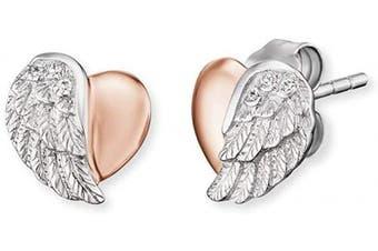 ENGELSRUFER Women Stud Earrings ERE-LILHEARTWING-BI