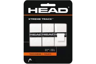 (White) - HEAD Xtreme Track Overwrap Tennis Racket Grip