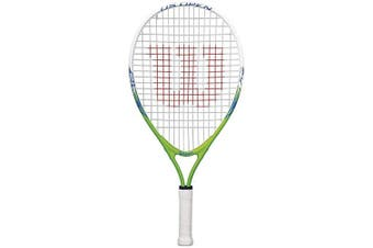 (Size 23 (Child Height: 100 to 115 cm), Multicolor) - Wilson Kids US Open Tennis Racket
