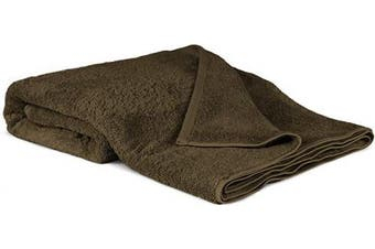 (Oversized Bath Sheet - 100cm  x 200cm , Cocoa) - 100% Luxury Turkish Cotton, Eco-Friendly, Soft and Super Absorbent Oversized 40'' x 80'' Bath Sheet (Cocoa, 1 Piece)