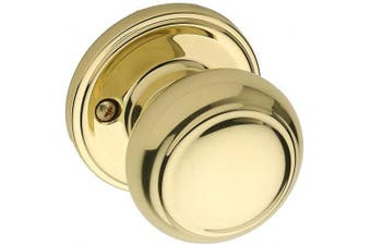 (Dummy, Polished Brass) - Copper Creek CK2090PB Colonial Dummy Door Knob