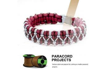 (Neon Yellow, 30 Metres) - Abma Cord 2mm Paracord 1 Inner Strand 100% Nylon Parachute Cord - 45kg Breaking Strength