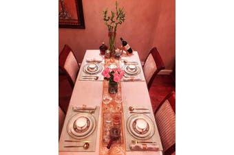 (12 PCS - SPIRAL,ROSE GOLD) - Napkin Ring, 12 Pcs Metal Napkin Holder for Wedding Party Dinner Table Decoration (12 PCS - SPIRAL,ROSE GOLD)