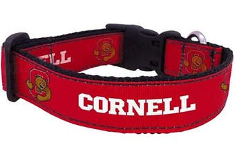 (Large) - All Star Dogs NCAA Cornell Big Red University Dog Collar