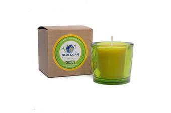 (1, Clarity) - Bluecorn Beeswax Aromatherapy Heavy Glass Votive (Clarity, 1)