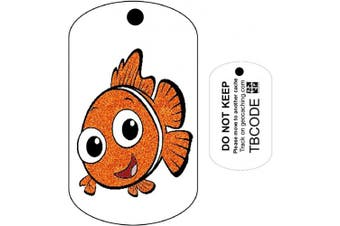 Casper the Clown Fish (Travel Bug) For Geocaching - Trackable Tag - Unactivated