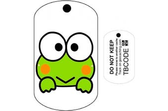 Freddy the Frog (Travel Bug) For Geocaching - Trackable Tag - Unactivated