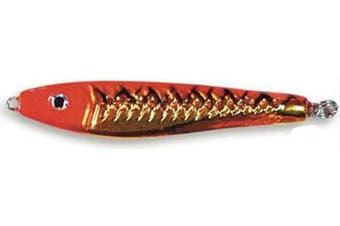 (210ml, Orange) - Braid Chrome Mackerel Series Jig