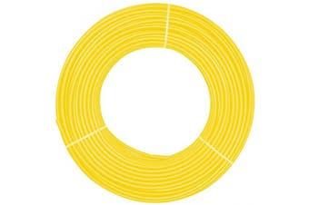 (12mmx8mm-16.4ft, *Yellow) - Beduan 12mm x 8mm Yellow Pneumatic Tubing Pipe PU Polyurethane Air Compressor Tubing Hose Pipe Line Fluid Transfer 16.4ft 5 Metre